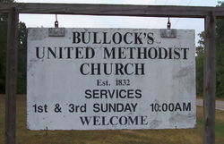 Bullocks United Methodist Church Cemetery