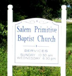 Salem Primitive Baptist Church Cemetery