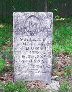 "Sarah ""Salley"" <I>Gillespie</I> Burch"