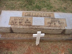Weaver Alonza Greenhaw