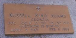 PFC Russell Byrd Adams