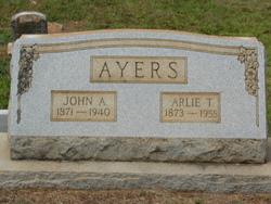Arlie T. <I>Sanders</I> Ayers