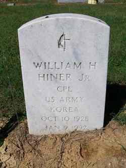 Corp William Herbert Hiner Jr.
