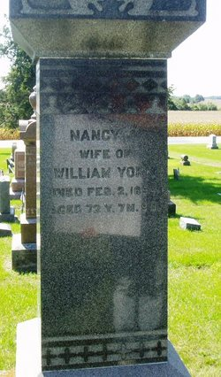 Nancy Jane <I>Bishop</I> York