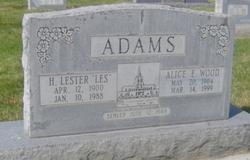 Horace Lester Adams