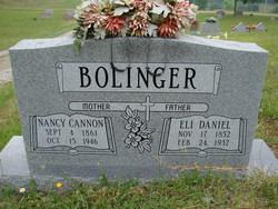 Nancy <I>Cannon</I> Bolinger