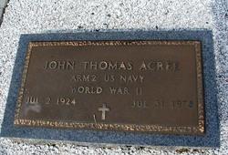 John Thomas Acree