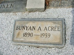 Bunyan A Acree