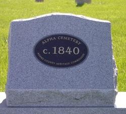 Alpha Cemetery