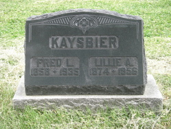 Hannah J <I>Whitaker</I> Kaysbier