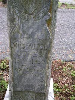 Alice B Jones