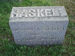 Joanna A. <I>Haskell</I> Ambler