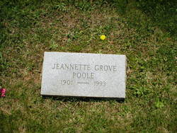 Jeannette Cubberly <I>Grove</I> Poole