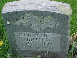Virginia Louise <I>Lawson</I> Billips