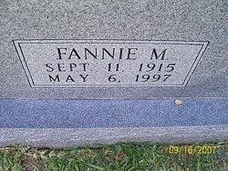Fannie M Hudson