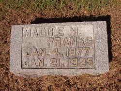 Maggie M Franks