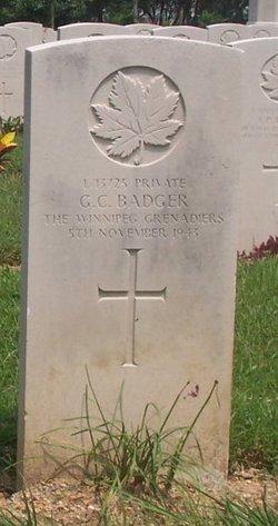 Private George Charles Badger
