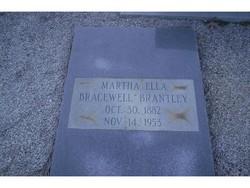 Martha Ella <I>Bracewell</I> Brantley