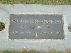 Vernon Fred Abrahams