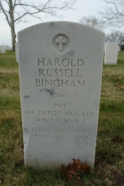 Harold Russell Bingham