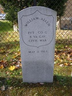 Pvt William Allen