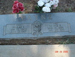 Beulah Eleanor <I>Yancey</I> Payne