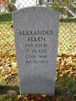 Pvt Alexander Allen
