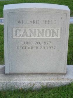 Willard Telle Cannon