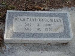 Elva Eleanor <I>Taylor</I> Cowley