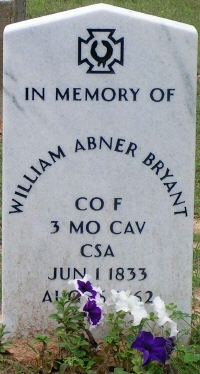 Capt William Abner Bryant