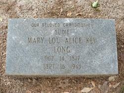 Mary Lou Alice <I>Key</I> Long