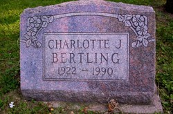 Charlotte J. <I>Williams</I> Bertling