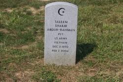 Saleem Shakir Abdur-Rahman