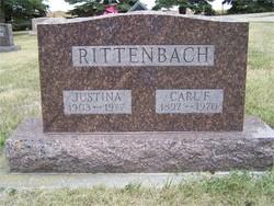 Justina <I>Machau</I> Rittenbach