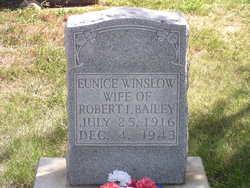 Eunice <I>Winslow</I> Bailey