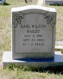 Earl Wilson Bailey