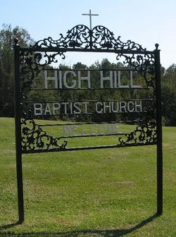 High Hill Baptist Church Cemetery