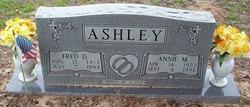 Annie Mae <I>Peevy</I> Ashley