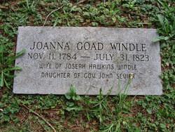 Joanna Goad <I>Sevier</I> Windle