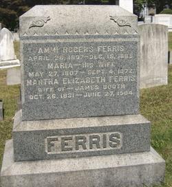 Martha Elizabeth <I>Ferris</I> Booth