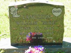 "William Michael ""Mike"" Langston"
