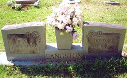 Doris Mae <I>Deason</I> Langston