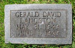Gerald David Langston