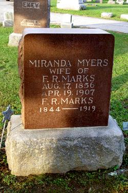 Miranda <I>Myers</I> Marks