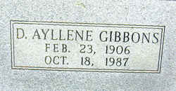 Dorothy Ayllene Gibbons