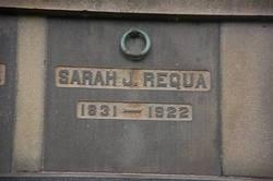 Sarah J. <I>Mower</I> Requa