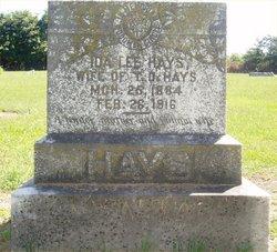 Ida Lee <I>Wooten</I> Hays
