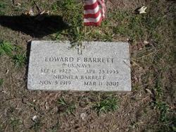 """Edward F """"Ned"""" Barrett"""