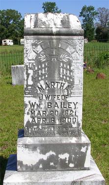 Martha Jane <I>Powell</I> Bailey