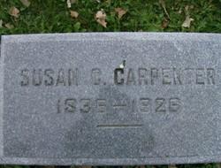 """Susan Catherine """"Kate"""" <I>Buckholder</I> Carpenter"""